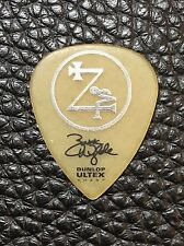 BLACK LABEL SOCIETY - ZAKK WYLDE - REAL TOUR GUITAR PICK - BLS
