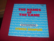 Names of the Game, Enterprise Recprds sampler 1973, Hendrix, Small Faces, etc