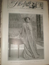 Printed photo actress Constance Collier in The Eternal City 1902 ref Z