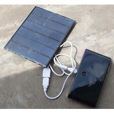 USB Charger 6V 3.5W Solar Panel Power Bank For Power Cell Phone PC Tablet MP3 BF