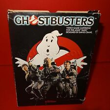 VINTAGE 1985 80s ATARI 2600 GHOSTBUSTERS VIDEO GAME CARTRIDGE DAVID CRANE BOXED