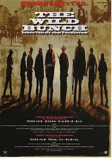 The Wild Bunch - Original Japanese Chirashi Mini Poster - Sam Peckinpah