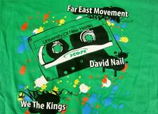 Mens Tee T Shirt Spring New Haven Concert 2011 Far East Movement Kings Sz 2XL EX
