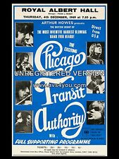 "Chicago Royal Albert Hall 16"" x 12"" Photo Repro Concert Poster"