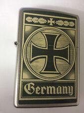 Original ZIPPO Feuerzeug Germany Eisernes Kreuz Deutschland