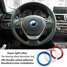 1Pcs Silvery Ring Magnesium Alloy Car Steering Wheel Center Decoration Ring M M5