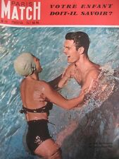 PARIS MATCH N° 0015 LOUIS JOURDAN TENNIS BOUSQUET AMNISTIE TOUR DE FRANCE 1949