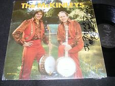Private Issue Autographed BANJO Specialty LP THE McKINLEYS Just Banjos OREGON