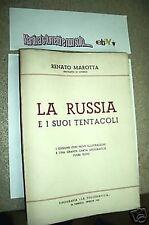 63)la Russia e i suoi tentacoli*R.Marotta 1°ed.