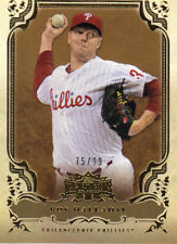 "2013  TOPPS    ""TRIPLE THREADS""   GOLD  #41  ROY HALLADAY  75/99"