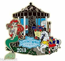 New Disney Gingerbread House Collection 2013 Beach Club Resort Ariel LE Pin