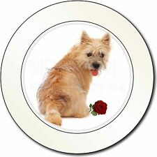 Cairn Terrier with Red Rose Car/Van Permit Holder/Tax Disc Gift, AD-CT1RT