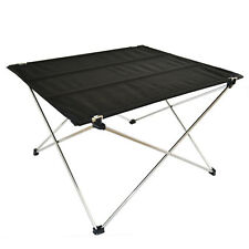 New Aluminum Roll Up Table Folding Camping Outdoor Garden Indoor Picnic with Bag