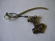 w47 Thor's Hammer Fine English Pewter On A PATTERN Bookmark