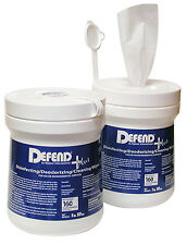 Defend Disinfecting Wipes (160) - Hygiene for Tattoo Studio