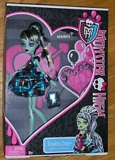 Monster High SWEET 1600 Frankie Stein NEW Birthday Party Ghoul Doll FREE Ship