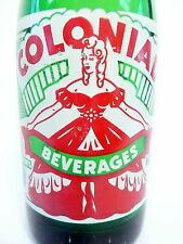 vintage ACL Soda Bottle: COLONIAL of BETHEL PARK, PA - 7 oz VINTAGE ACL