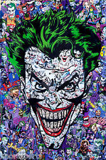 DC COMICS - THE JOKER POSTER PRINT - WALL ART - BUY 2 GET 1 FREE