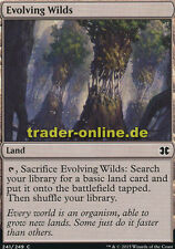 4x Evolving Wilds (Sich entfaltende Wildnis) Modern Masters 2015 Magic