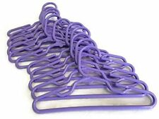 Dog Clothes Hangers Xtra Small Pet Clothes 7 inches wide 1 Dozen Lavender