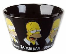 Simpsons Schüssel daily Homer a normal week cereal cáscara taza Bowl nuevo