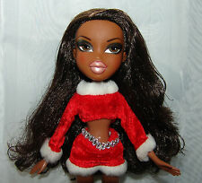BRATZ CHRISTMAS DOLL HOLIDAY 2001 SASHA 10 INCH BEAUTIFUL RED OUTFIT BOOTS