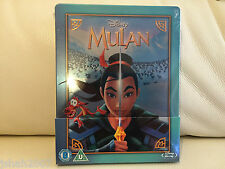 Disney Mulan zavvi Exclusivo Steelbook Blu Ray ** Nuevo Y Sellado **