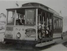 USA176 1949 MUNICIPAL RAILWAY of SAN FRANCISCO TROLLEY No524 PHOTO California