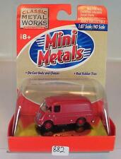 Mini Metals 1/87 Metro Delivery Truck rot OVP #882