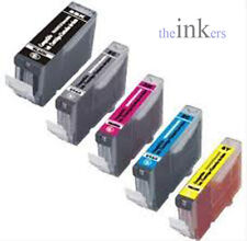 1 X SET OF 5 COMPATIBLE INK CARTRIDGES FOR CANON MG5250