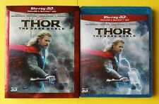 THOR THE DARK WORLD 3D SLIPCASE WALT DISNEY BLURAY