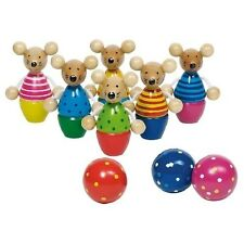 Bowling mice - table skittles - colourful and great fun for everyone!