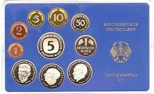 West Germany Full Coin Proof Set 1980 (or 1979,1981,1982 free selectable)