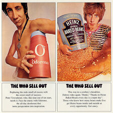 The Who THE WHO SELL OUT 180g +Psychedelic Poster GEFFEN RECORDS New Vinyl LP