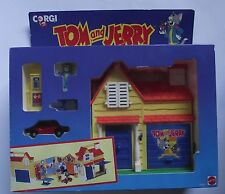 1993 Corgi / Mattel - Tom and Jerry Fun House Playset - Boxed / Sealed - Diecast