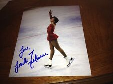 Linda Fratianne 1980 Olympic Silver Figure Skater Autographed 8x10 Photo  COA