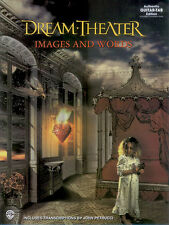 Dream Theater Images And Words Guitar TAB Music Book