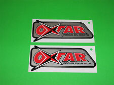 OXTAR MATRIX GTX GORE-TEX TOURING OFFROAD MOTOCROSS MOTORCYCLE BOOTS STICKERS