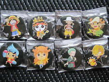 One Piece Anime / Manga Pins (Set of 8)