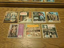 Lot of 7 View Master Travel Reel Packets Sawyer's GAF