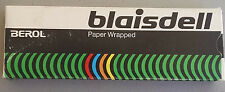 VINTAGE BLAISDELL 795T  BLACK MARKER PAPER WRAPPED USA MADE BEROL CO.