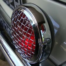 STOP Light Red Vintage Mesh grille fog light wire grill for Porsche VW AAC153