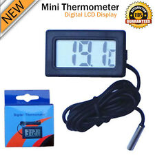 New Mini Digital LCD Thermometer Hygrometer Humidity Temperature Meter Indoor UF