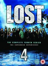 LOST Complete Series 4 DVD Boxset All Episode Fourth 4th Season Original UK NEW