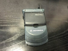 VINTAGE~Motorola StarTAC 6000E - Black Cellular Phone~FREE SHIP
