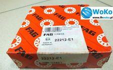 Bearing 22212 E1 FAG 60x110x28 esférica Rodamiento de rodillos, Envío Rápido Gratis