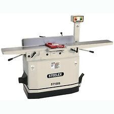 "Steelex ST1006 8"" Jointer w/Mobile Base & Parallelogram Adjustable Beds"