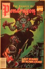 The Knights of Pendragon #16 - US Marvel-Copper Age