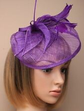 LARGE FASCINATOR Hatinator Hat Weddings Races Ladies Day Hairband Alice band