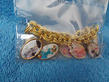 2012 Barbie Convention * Silkstone Barbie Doll * Adult Charm Bracelet * New